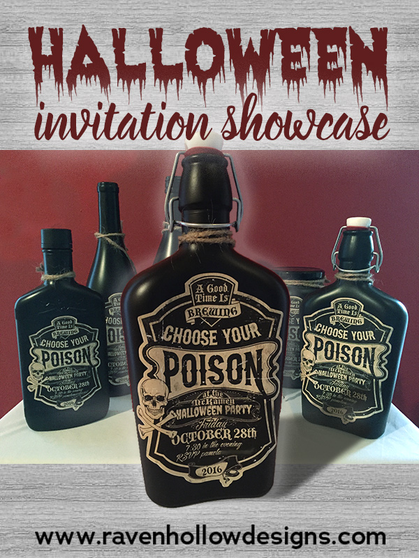 2016 Halloween Invitation Showcase
